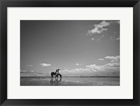 Framed Quite Moment Print