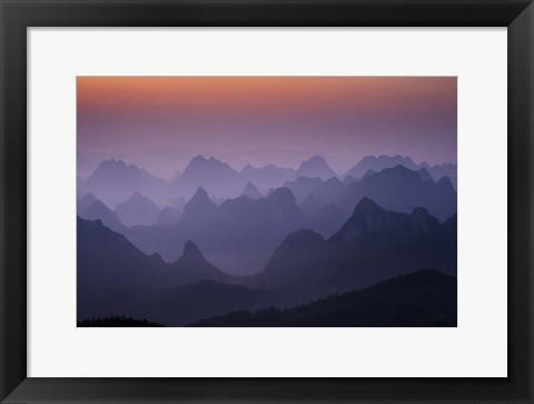 Framed Enchanted China Print