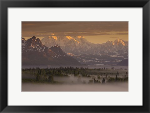 Framed Moods Of Denali Print