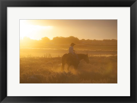 Framed Ready To Ride Print
