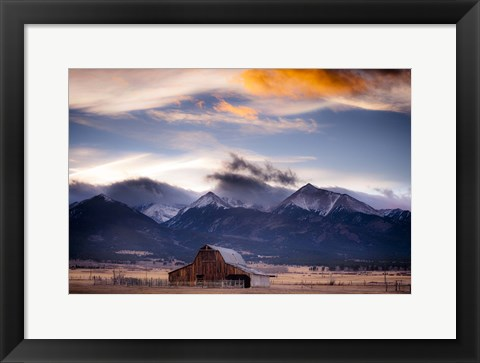 Framed San Greys Print