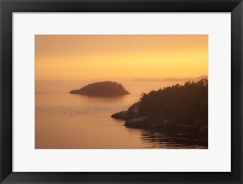 Framed Waters Calm Print