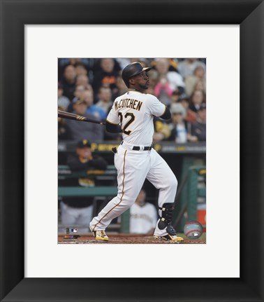 Framed Andrew McCutchen 2015 Action Print