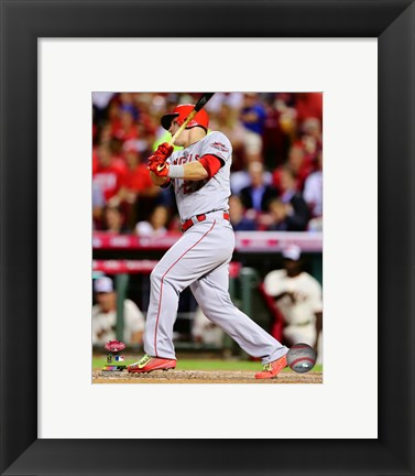 Framed Mike Trout 2015 MLB All-Star Game Print