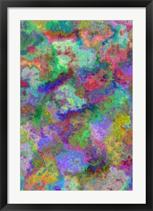 Framed Abstract 4 Print