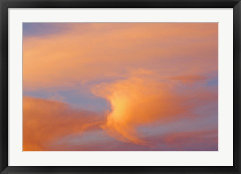 Framed Clouds Print