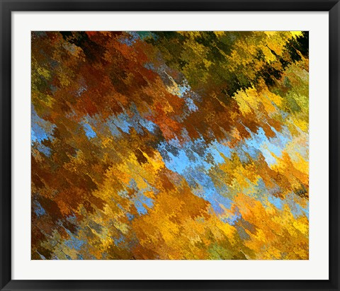 Framed Abstract 9 Print