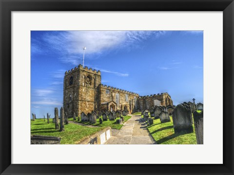 Framed Church 4 Print