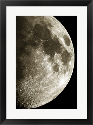Framed Moon 3 Print