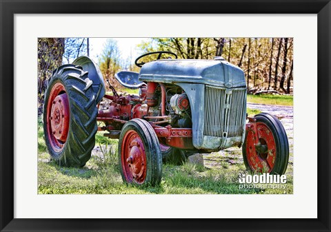 Framed Tractor Print