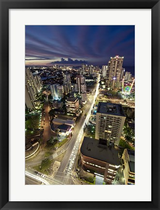 Framed Gold Coast Highway Print