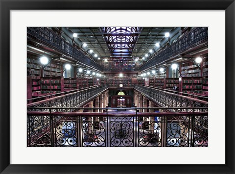 Framed Mortlock Library Print