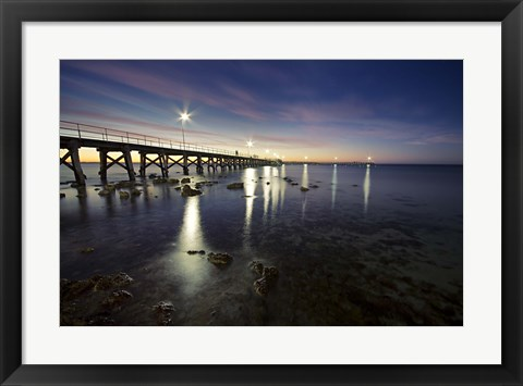 Framed Moonta Bay Print