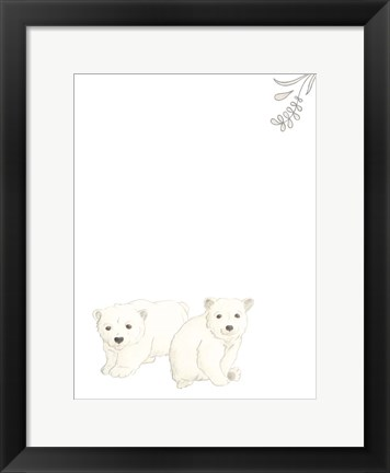 Framed Baby Animals II Print
