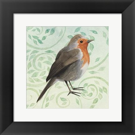 Framed Little Bird II Print
