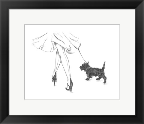 Framed Perfect Companion IV Print