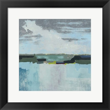 Framed Day at the Sea II Print