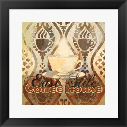 Framed Coffee House III Print