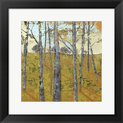 Framed Thicket on the Hill II Print