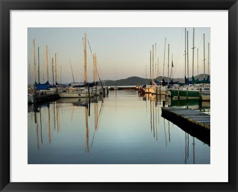 Framed Marina Sundown II Print
