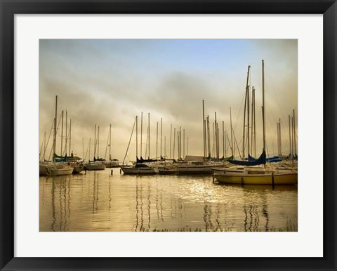 Framed Morning Fog Print