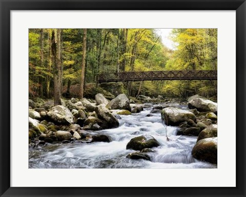 Framed Bridging the Seasons Print