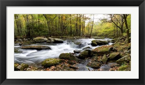 Framed Over Flow Panorama Print