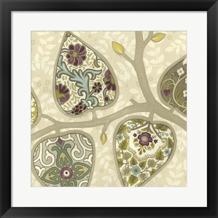 Framed Patterns in Foliage I Print