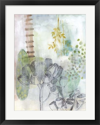 Framed Seed Pod Composition III Print