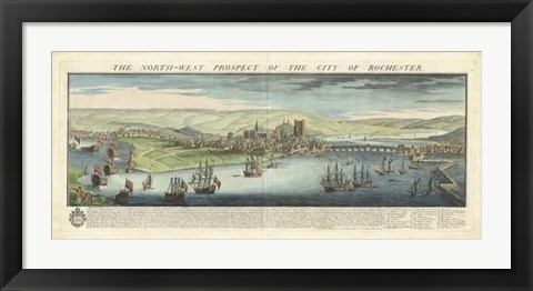 Framed Buck's View - Rochester Print
