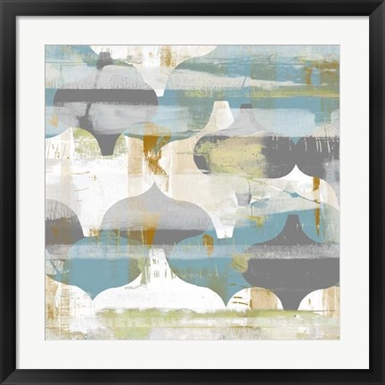 Framed Arabesque Abstract II Print