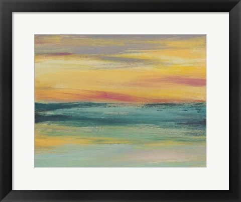 Framed Sunset Study III Print