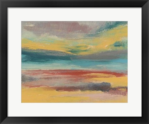 Framed Sunset Study IX Print