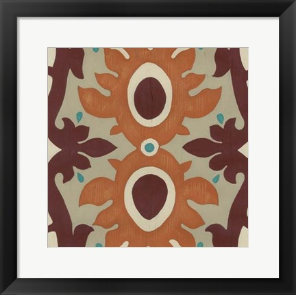 Framed Global Motif IV Print