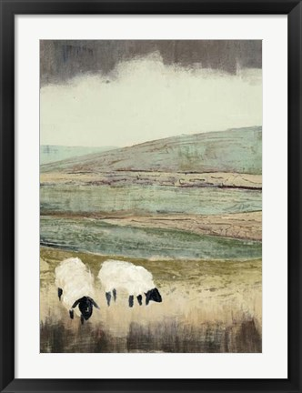 Framed Open Meadow II Print