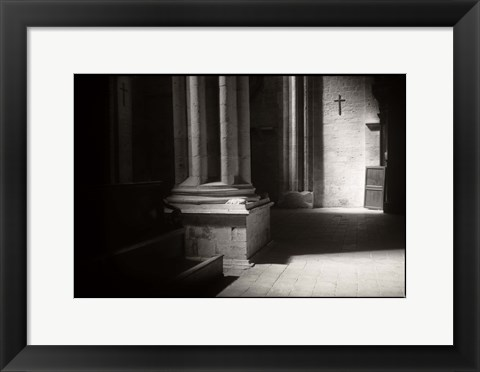 Framed Church Cross Light Print
