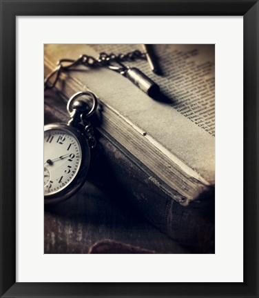 Framed Watch Book Print