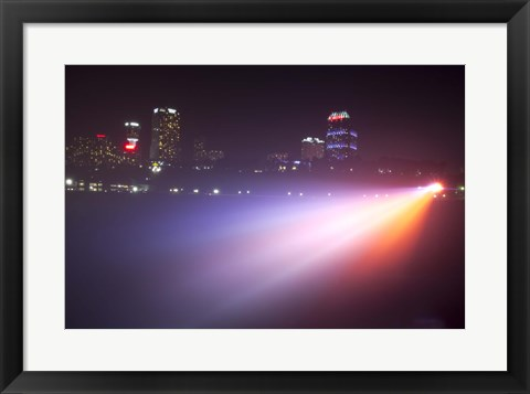 Framed Canadian Lights Print