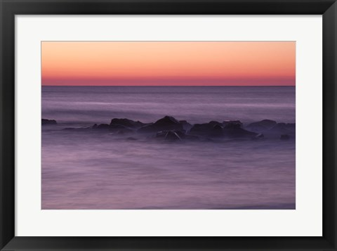 Framed Ocean Grove Early Morning Print
