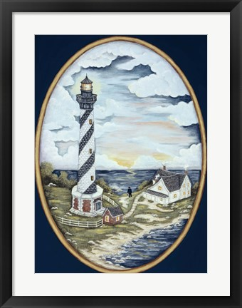 Framed Cape Hatteras Lighthouse Print