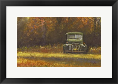 Framed Dad's Truck Print
