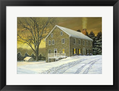 Framed Mill House Print