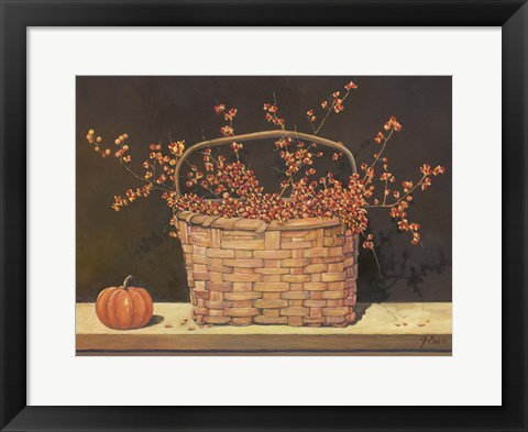 Framed Fall Gathering Print