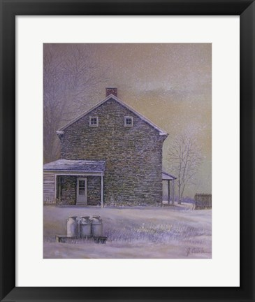 Framed Morning Flurries Print