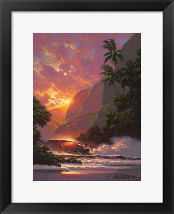 Framed Summer Embers Print