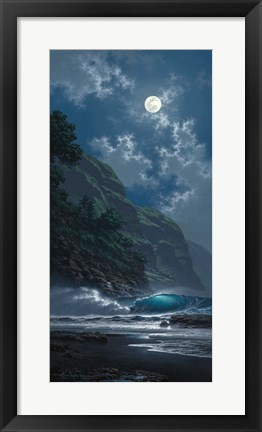 Framed Black Sand Magic Print