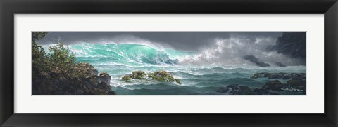 Framed Passionate Sea Print