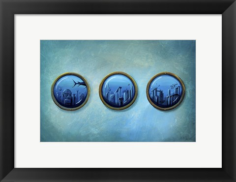 Framed Gateway to Antiquity Print