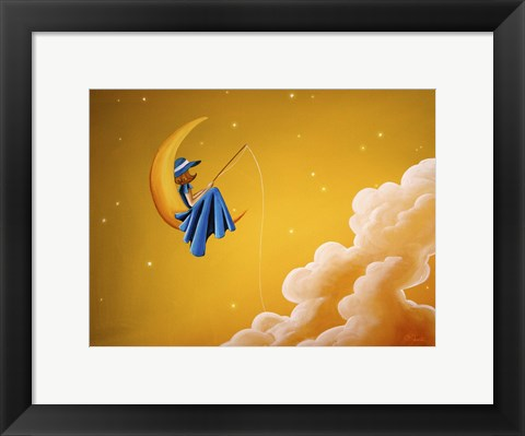 Framed Blue Moon Print