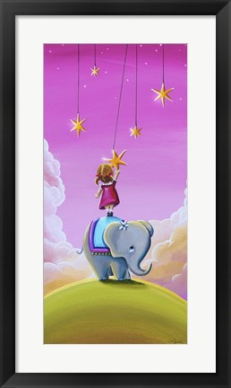 Framed Reach for the Stars Print